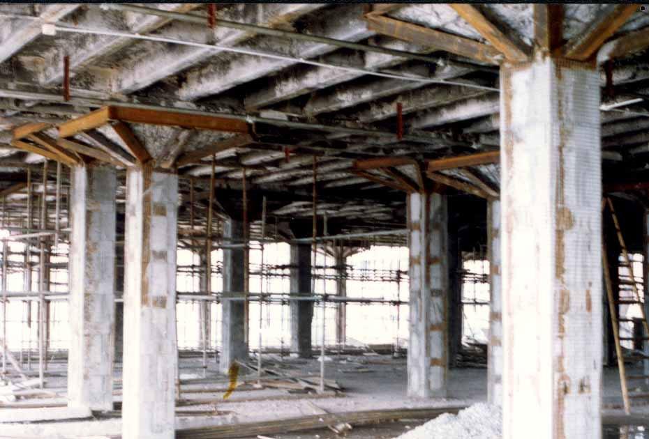 火灾后钢筋混凝土柱的修复和加固